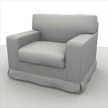 sofa pack 1 3d model 3ds max obj 80353