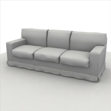 sofa pack 1 3d model 3ds max obj 80354
