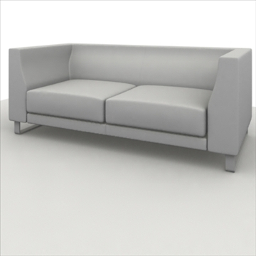 sofa pack 1 3d model 3ds max obj 80356