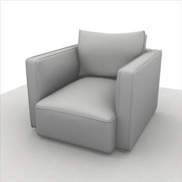 sofa pack 1 3d model 3ds max obj 80357