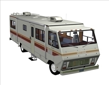 1978 motorhome 3d model 3ds pz3 pp2 obj 106769