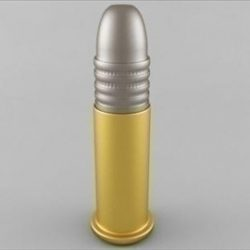 22 Long Rifle Cartridge ( 25.51KB jpg by Plutonius )