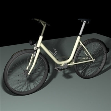 4 in 1 bicycle pack 3d model 3ds 97399