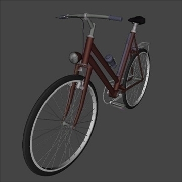 4 in 1 bicycle pack 3d model 3ds 97403