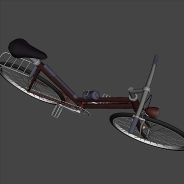 4 in 1 bicycle pack 3d model 3ds 97404