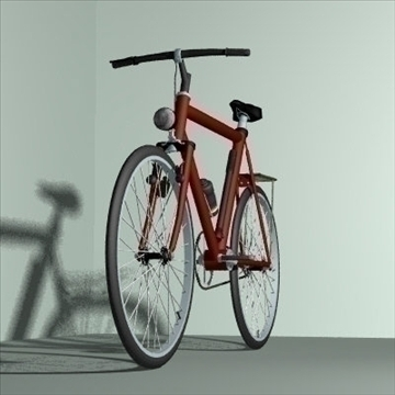 4 in 1 bicycle pack 3d model 3ds 97406