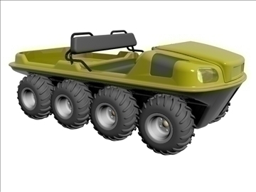 8x8 amphibious vehicle 3d model max dxf 95834