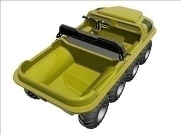 8x8 amphibious vehicle 3d model max dxf 95835