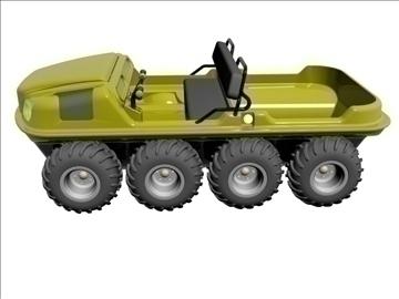 8x8 amfībija transportlīdzeklis 3d modelis max dxf 95836