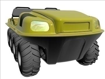 8x8 amphibious vehicle 3d model max dxf 95839