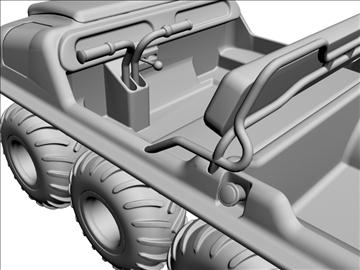 8x8 amphibious vehicle 3d model max dxf 95841