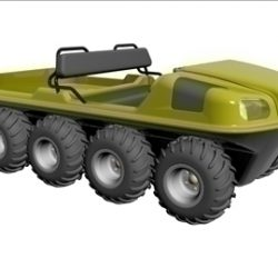 8X8 Amphibious Vehicle ( 39.97KB jpg by ajwheels )