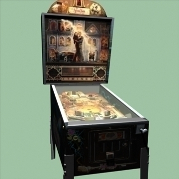 addams family pinball machine 3d model max 95898