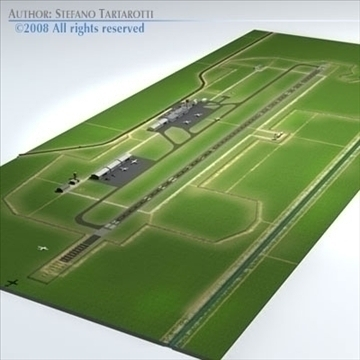 lennujaama stsenaarium 3d mudel 3ds dxf fbx c4d dae obj 88596