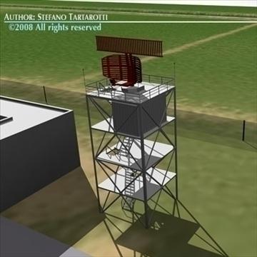 airport scenario 3d model 3ds dxf fbx c4d dae obj 88599
