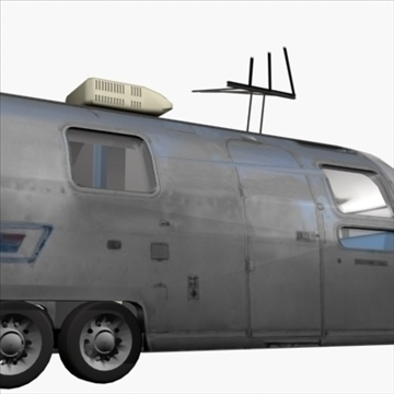 airstream trailer with interior 3d model 3ds max 80710
