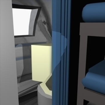 airstream trailer with interior 3d model 3ds max 80712