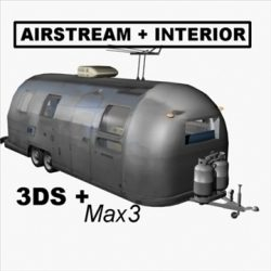 AirStream Trailer with Interior ( 63.24KB jpg by prolithic )