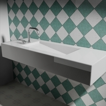 alberca sink 3d model 3ds max dwg obj 82106