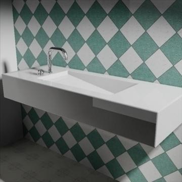 alberca угаалтуур 3d загвар 3ds max dwg obj 82106