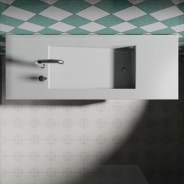 alberca sink 3d model 3ds max dwg obj 82108