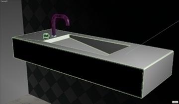 alberca sink 3d model 3ds max dwg obj 82109