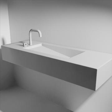 alberca sink 3d model 3ds max dwg obj 82110