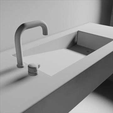 alberca sink 3d model 3ds max dwg obj 82111