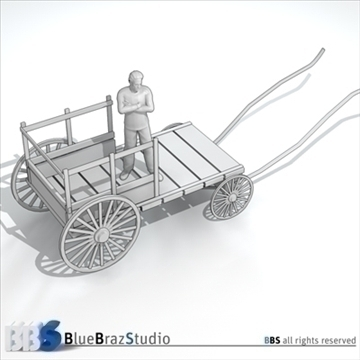 ancient chariot 2 3d model 3ds dxf c4d obj 106785