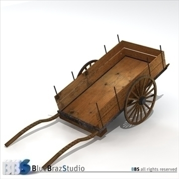 ancient chariot 3d model 3ds dxf c4d obj 106778