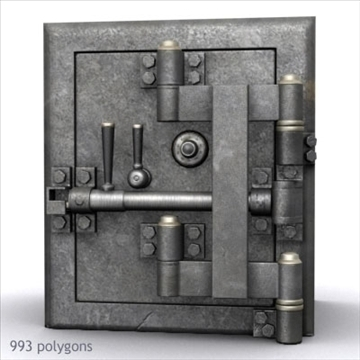 antik diebold təhlükəsiz 01 3d model max x digər 92979