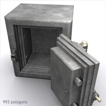 antik diebold təhlükəsiz 01 3d model max x digər 92980