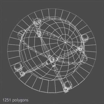 antik globe masa 3d model max x digər 93103