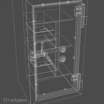 antique safe 3d model max x other 93112