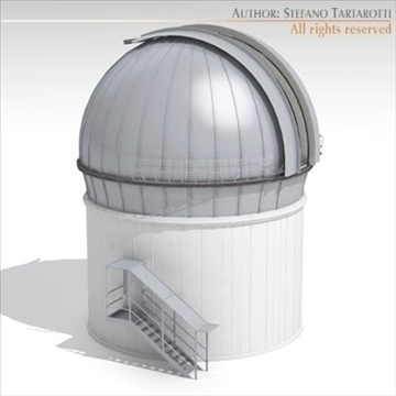 astronomic telescope 3d model 3ds dxf c4d obj 105983