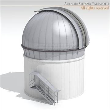 astronomski teleskop 3d model 3ds dxf c4d obj 105983