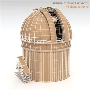 astronomic telescope 3d model 3ds dxf c4d obj 105984