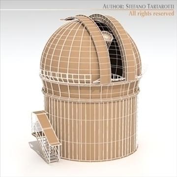 astronomski teleskop 3d model 3ds dxf c4d obj 105984