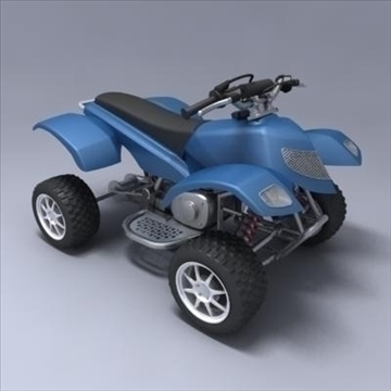 atv 3d model 3ds max fbx obj 107560