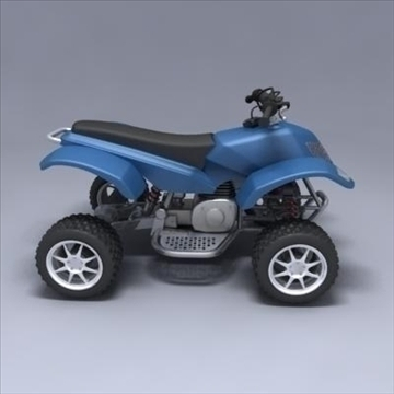 atv 3d model 3ds max fbx obj 107561