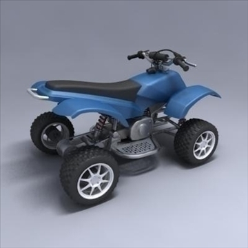 atv 3d model 3ds max fbx obj 107562