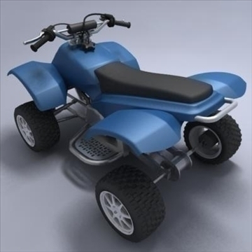 atv 3d model 3ds max fbx obj 107563