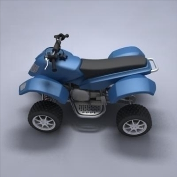 atv 3d model 3ds max fbx obj 107564