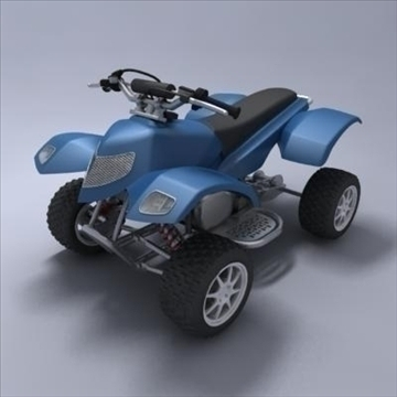 atv 3d model 3ds max fbx obj 107565