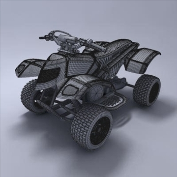 atv 3d model 3ds max fbx obj 107566