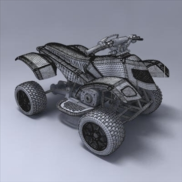 atv 3d model 3ds max fbx obj 107568