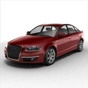 audi a6 car 3d model 3ds max lwo ma mb obj 85786