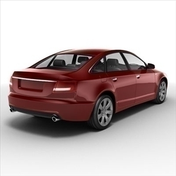 audi a6 car 3d model 3ds max lwo ma mb obj 85787