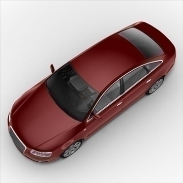 audi a6 car 3d model 3ds max lwo ma mb obj 85788