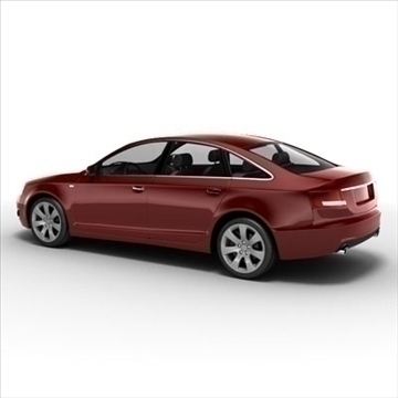 audi a6 car 3d model 3ds max lwo ma mb obj 85791